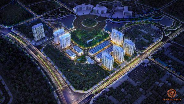 Hình ảnh phối cảnh dự án dự án Him Lam City Quận 2 Chủ đầu tư Him Lam Group