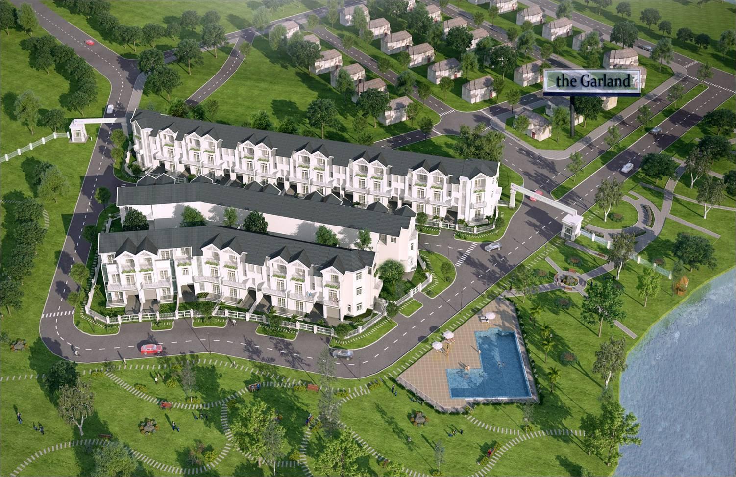 Hình ảnh phối cảnh dự án căn hộ Hoja Villa Quận 9