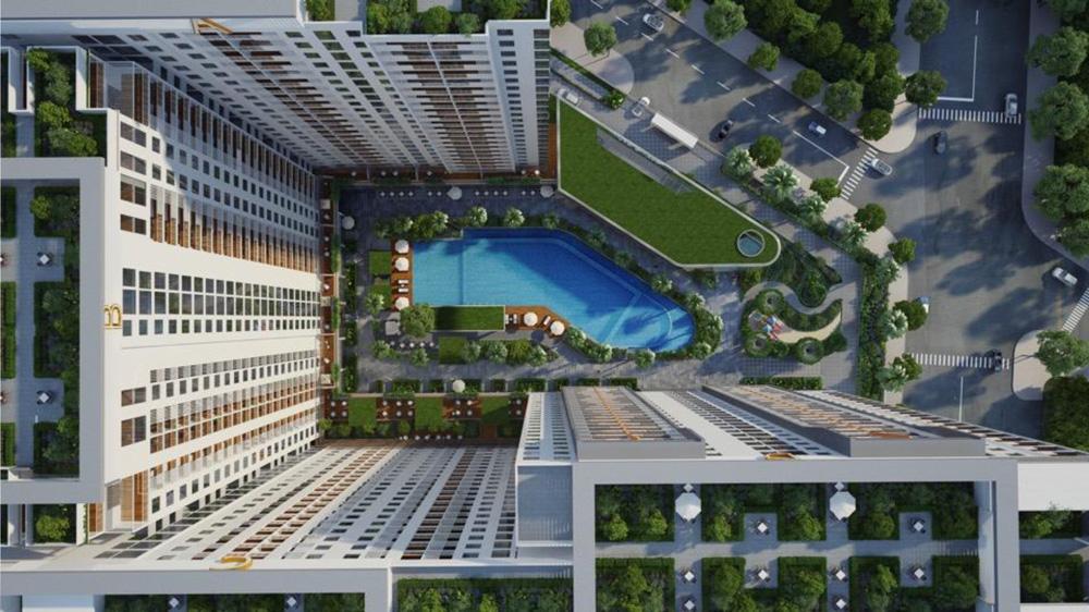 Thiết kế dự án căn hộ Jamila Khang Điền nhìn từ bên trên