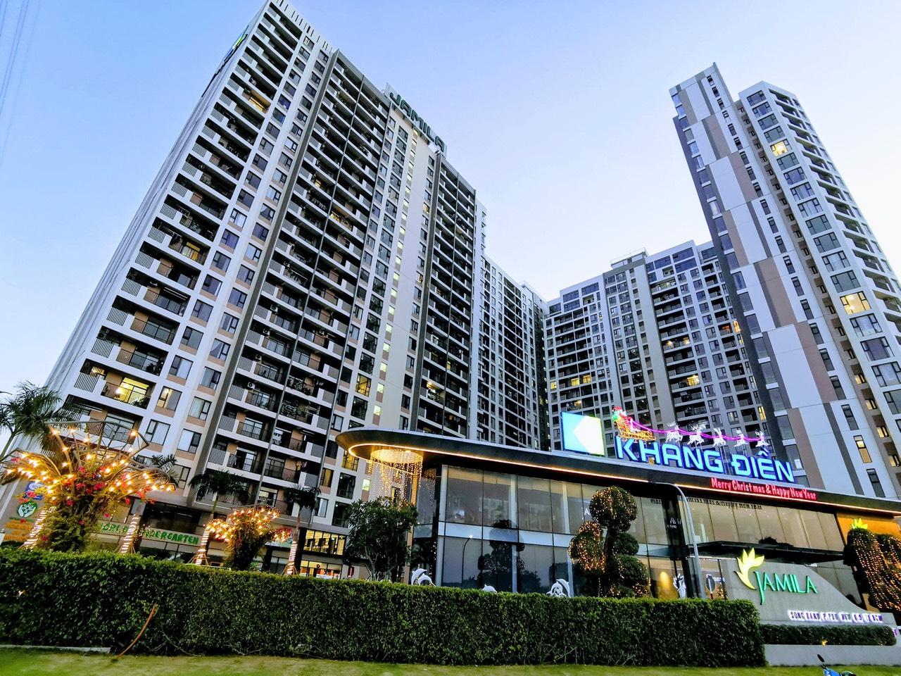 Thiết kế tổng quan dự án căn hộ Jamila Khang Điền