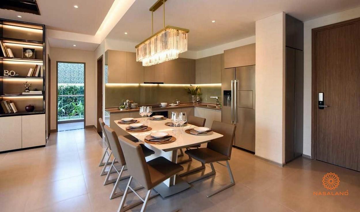 Thiết kế nhà mẫu dự án căn hộ D'Lusso Precia Quận 2