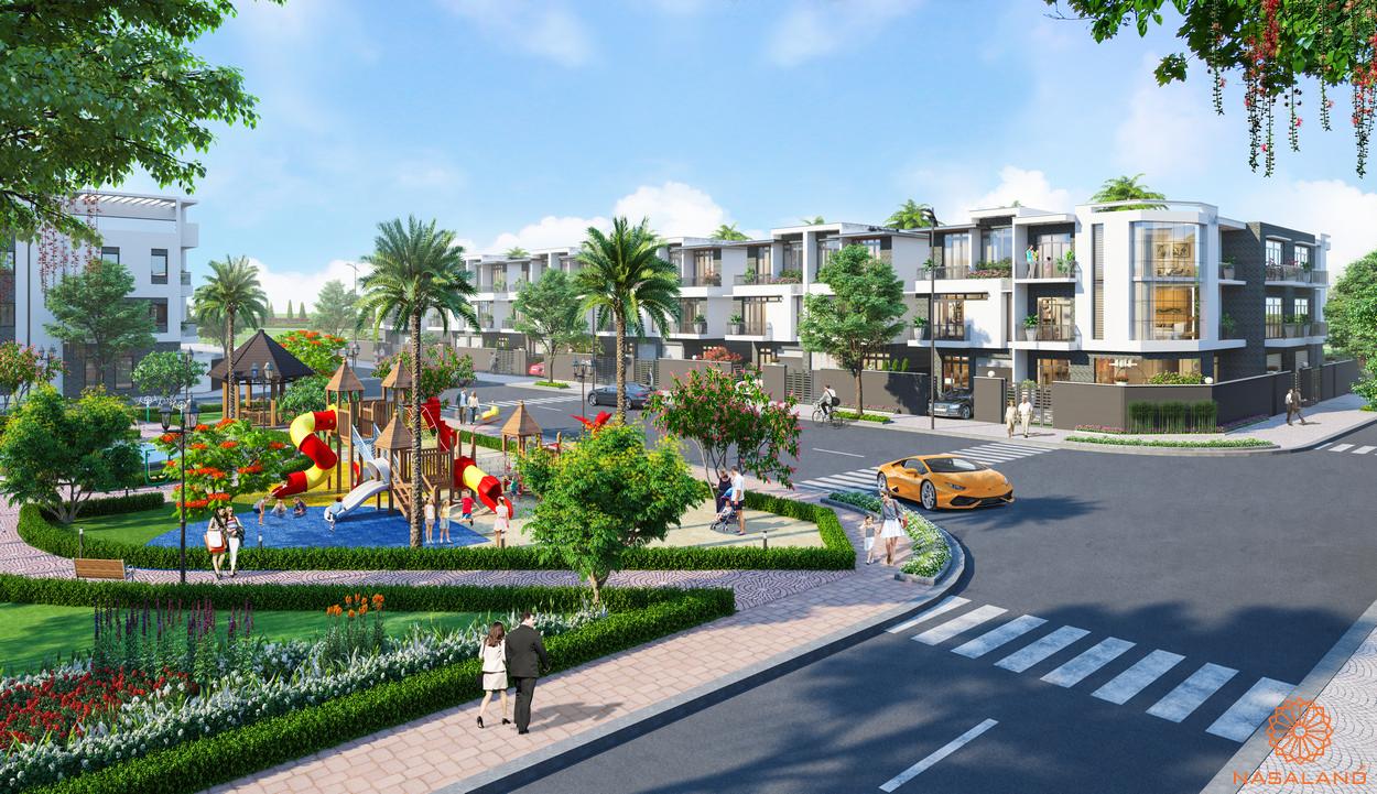 Phối cảnh tiện ích dự án Đông Tăng Long An Lộc
