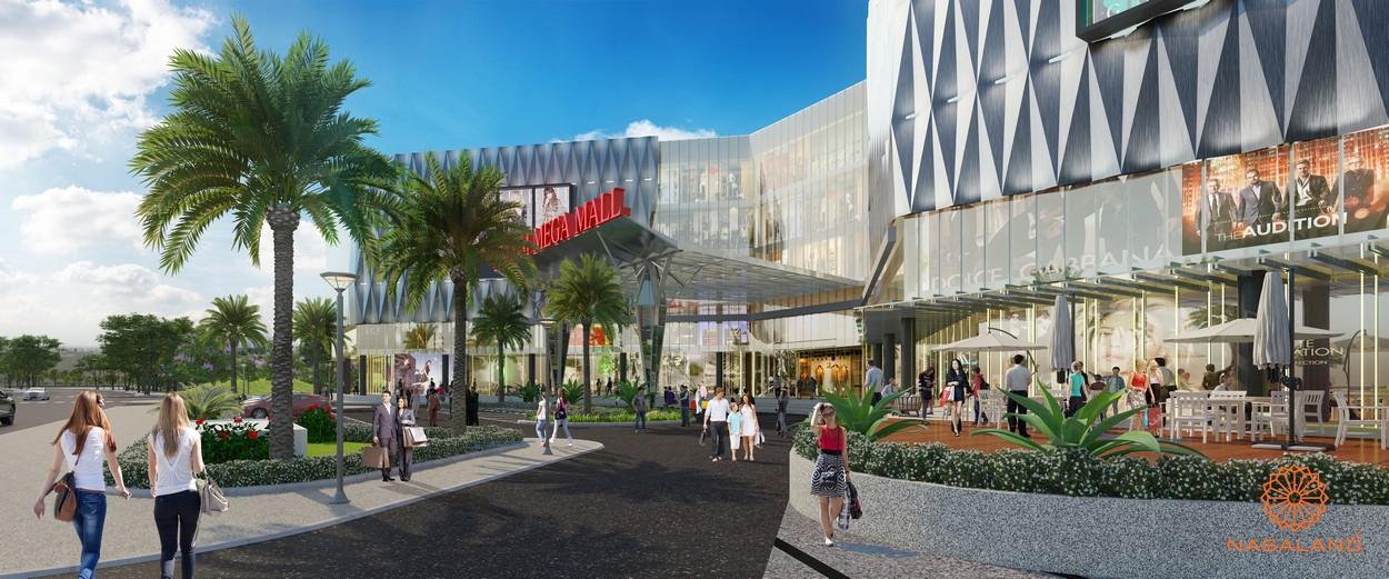 Vincom Mega Mall tại The Manhattan GLory Vinhomes Grand Park Quận 9 đường Nguyễn Xiển chủ đầu tư Vingroup
