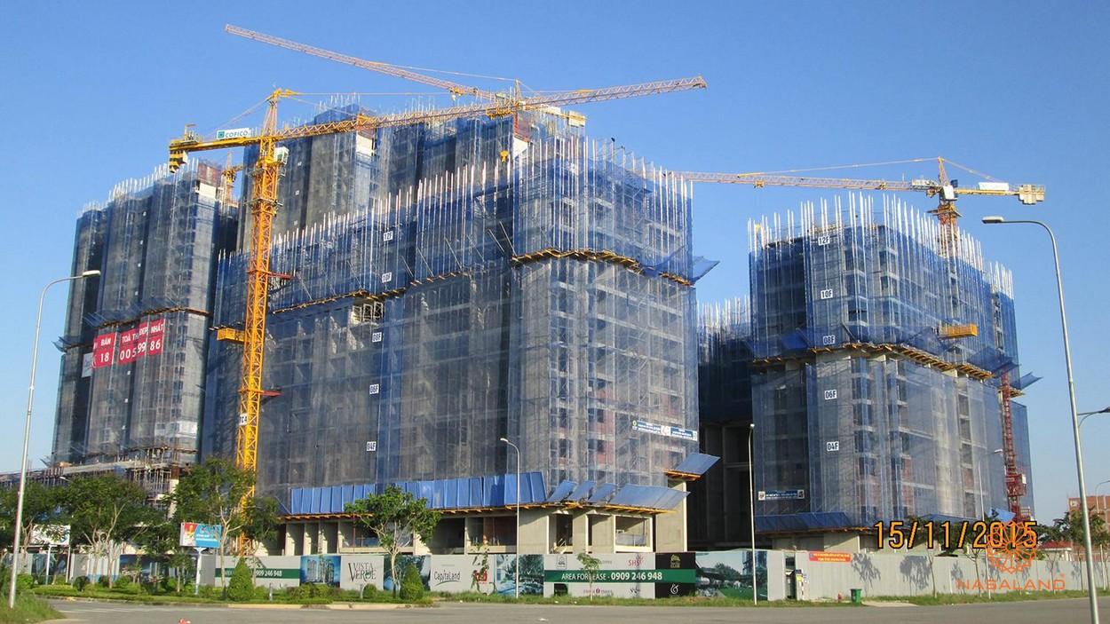 Tiến độ cập nhật dự án căn hộ Vista Verde quận 2