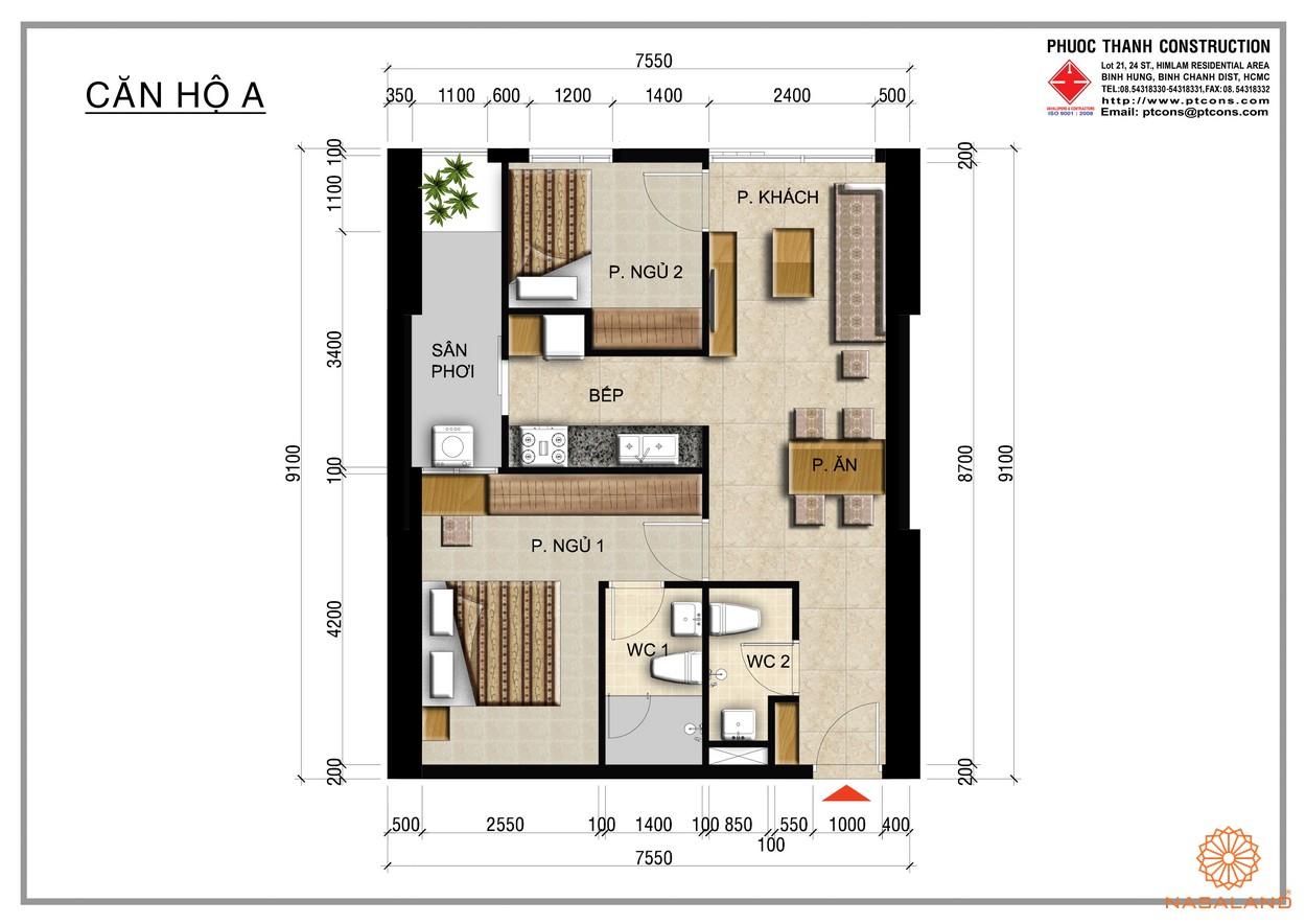 Thiết kế căn hộ dự án Centana Thủ Thiêm