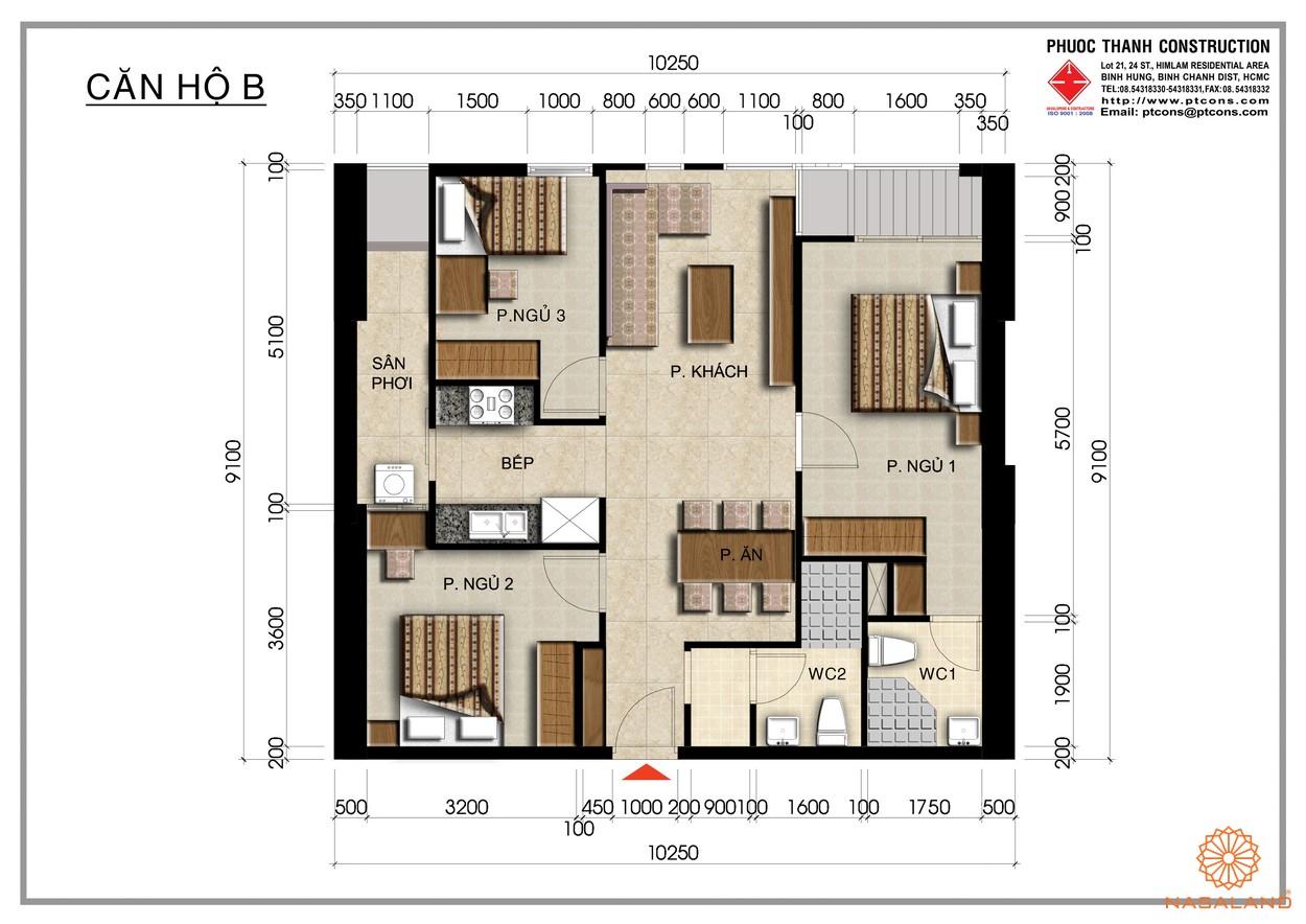 Thiết kế tại căn hộ Centana Thủ Thiêm Quận 2