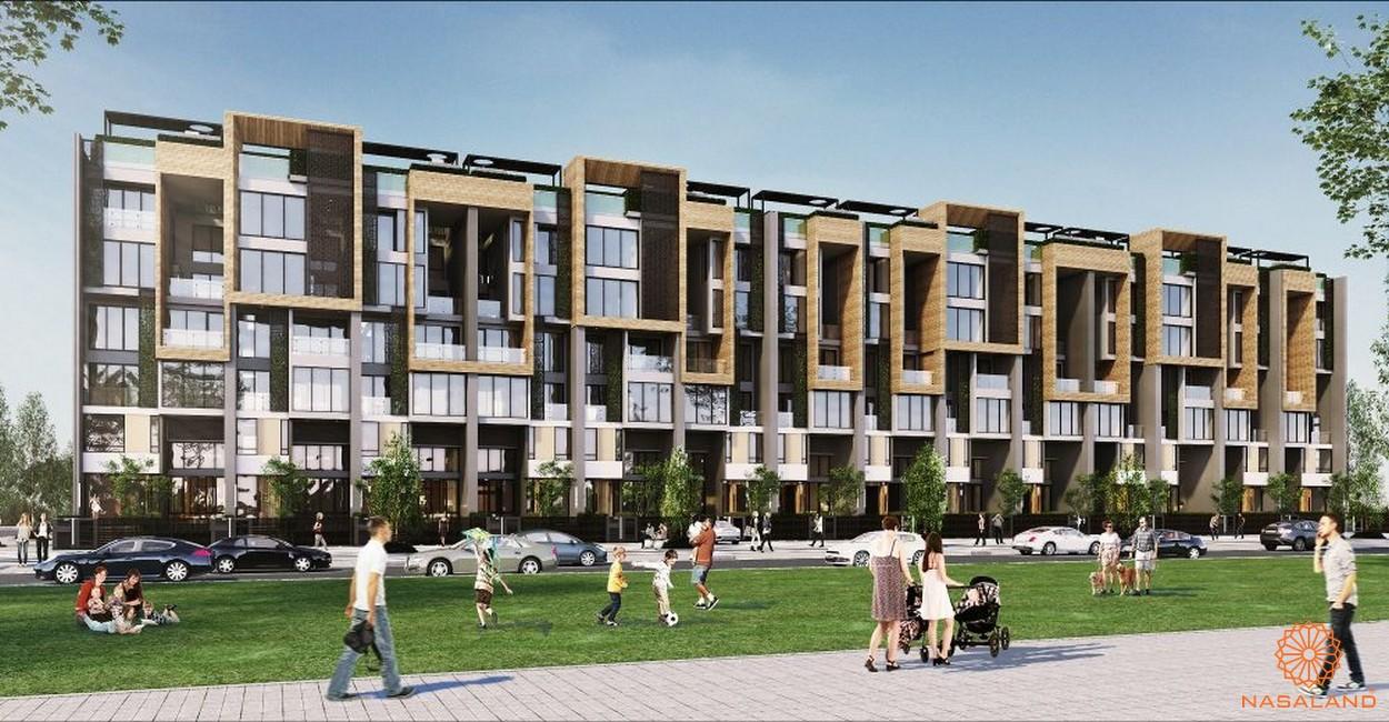 Hình ảnh phối cảnh dự án dự án D2Eight Quận 2 Chủ đầu tư CapitaLand