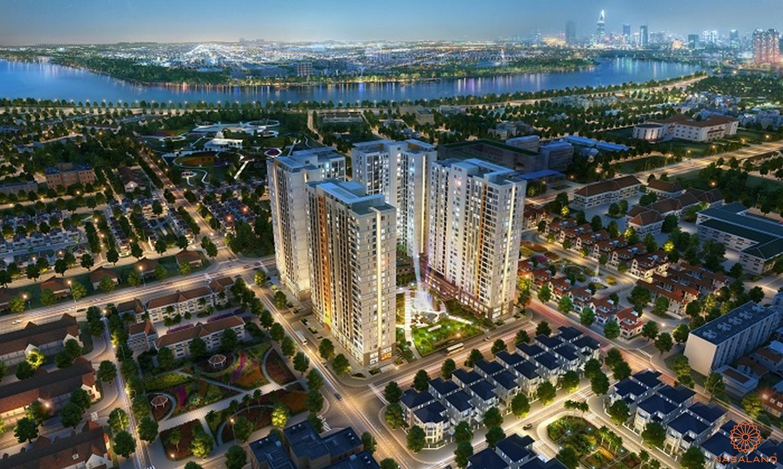 Hình ảnh phối cảnh dự án căn hộ Victoria Village Quận 2