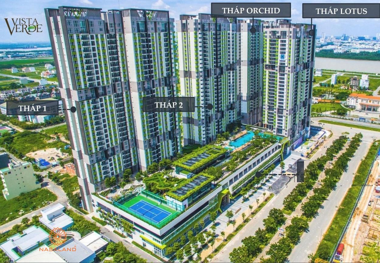 Hình ảnh phối cảnh dự án căn hộ Vista Verde Quận 2 Chủ đầu tư Capitaland