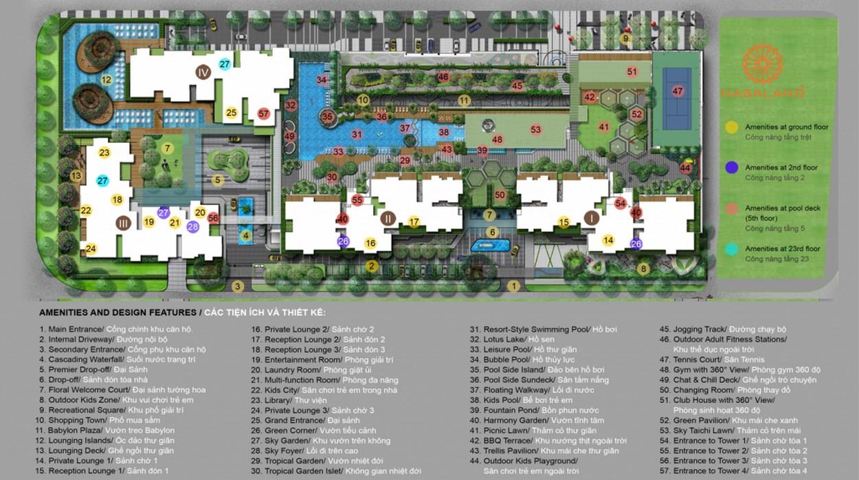 Tiện ích dự án căn hộ chung cư Vista Verde Quận 2