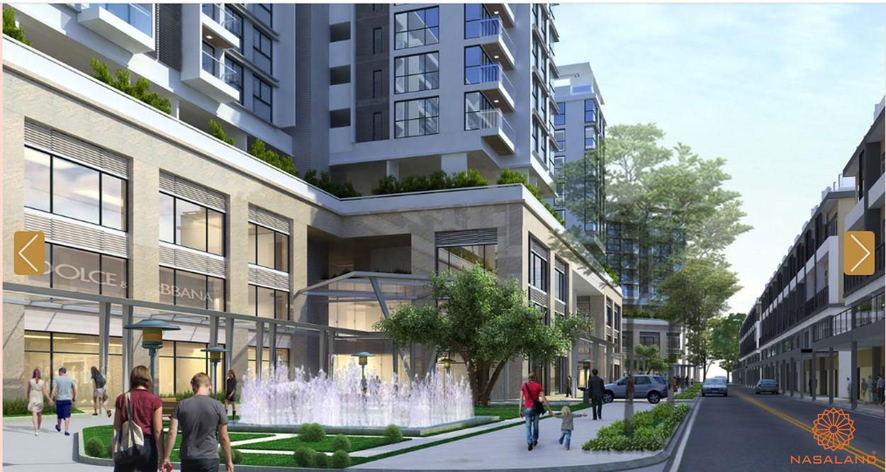 Phối cảnh tổng thể dự án Sarica Condominium