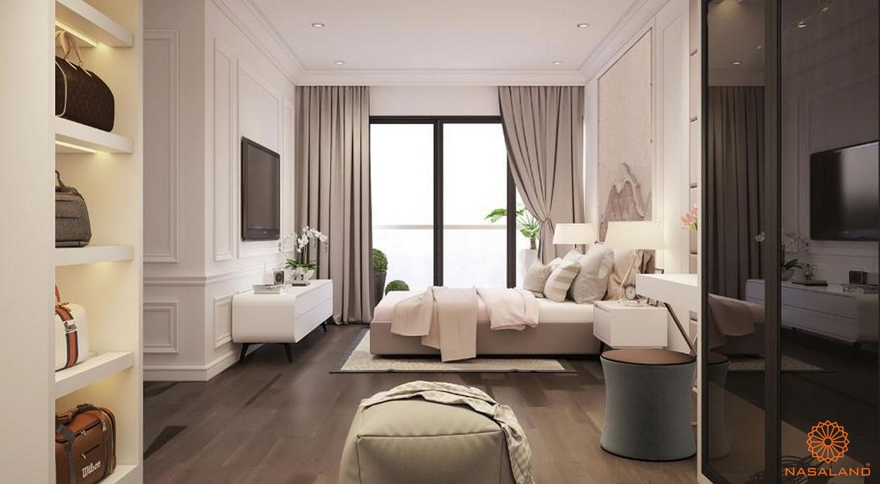 Thiết kế phòng ngủ sang trọng tại New City
