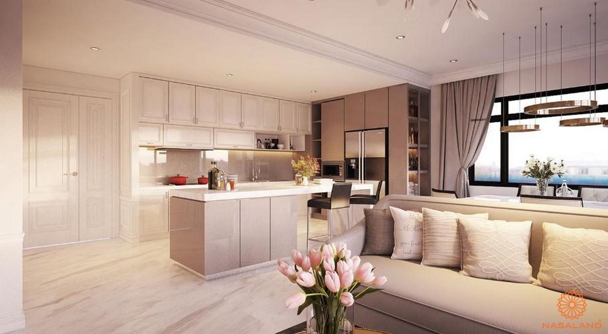 Thiết kế gian bếp hiện đại và tiện nghi tại dự án căn hộ New City