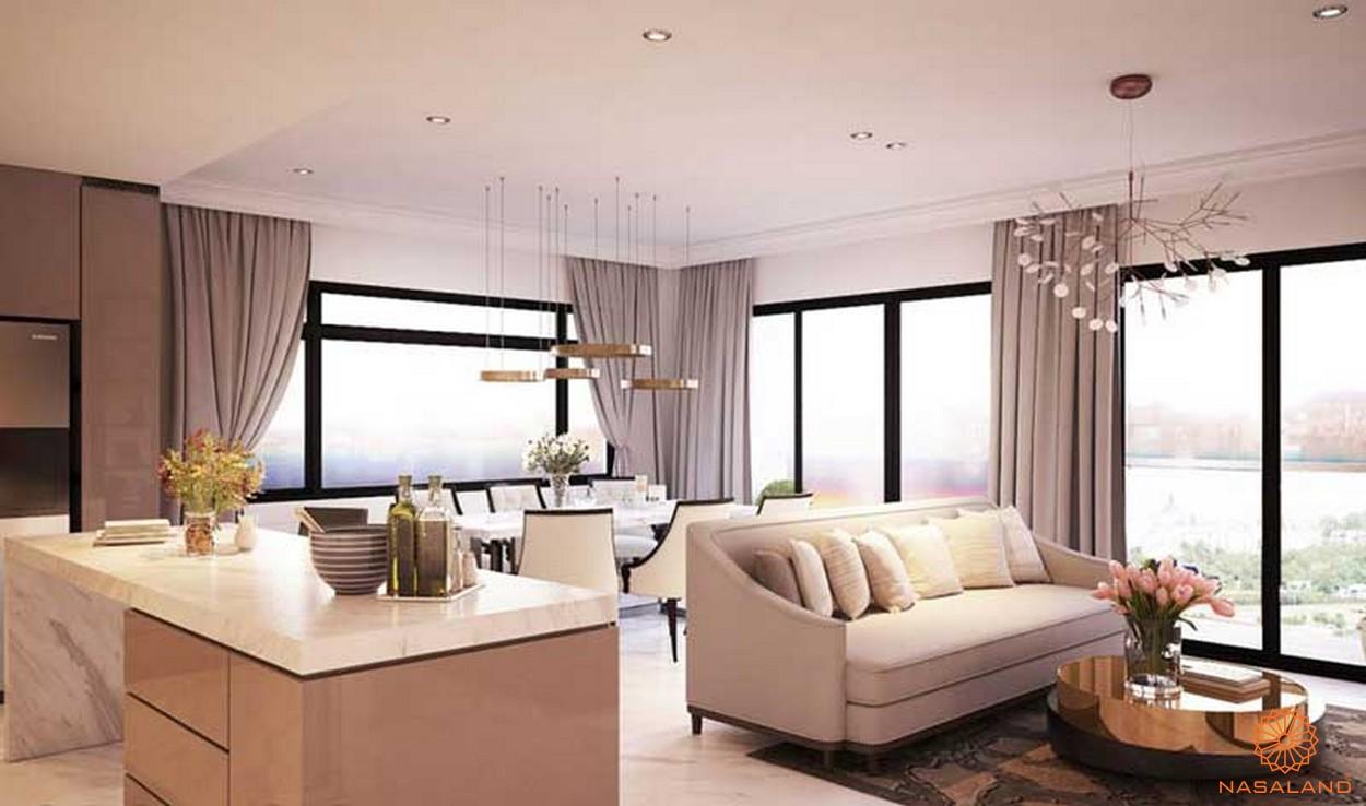 Nội thất phòng khách chất lượng hoàn mỹ New City