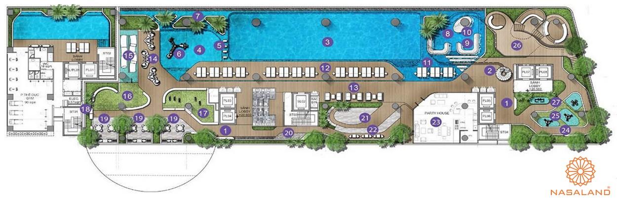 Tiện ích dự án căn hộ Q2 Thảo Điền Quận 2