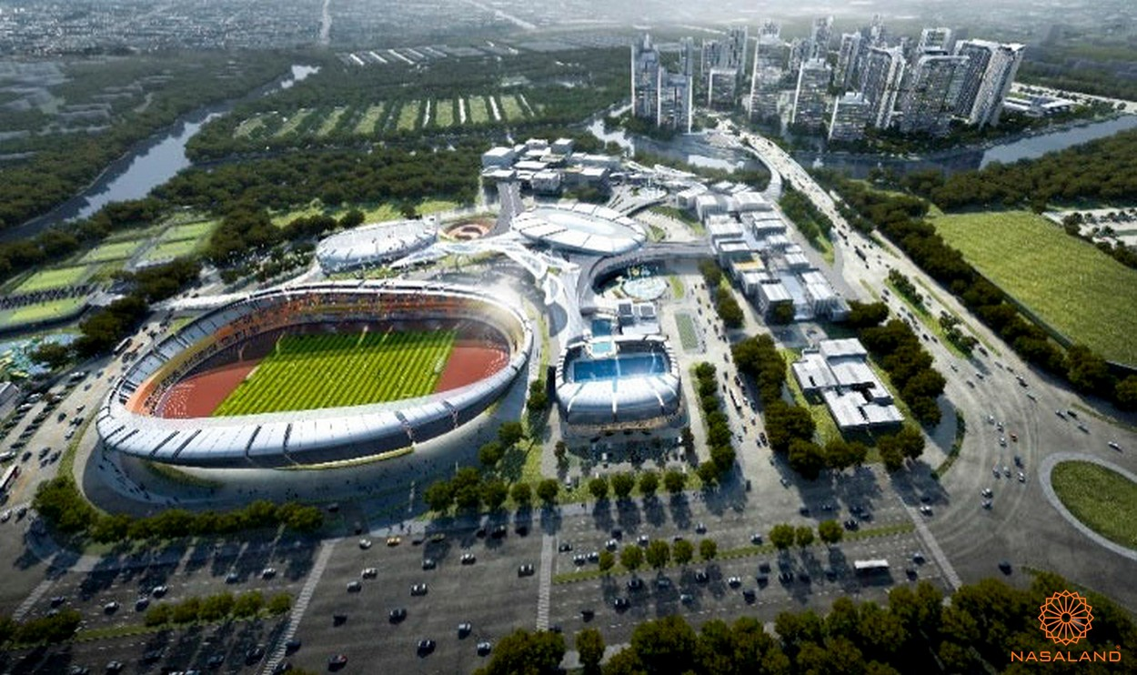 Hình ảnh phối cảnh dự án Saigon Sport City Quận 2