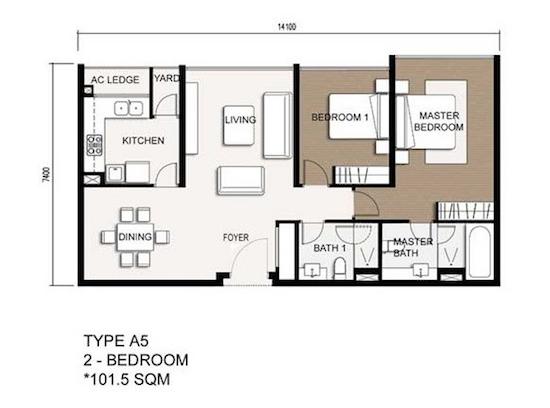 Thiết kế dự án căn hộ chung cư The Vista An Phú Quận 2