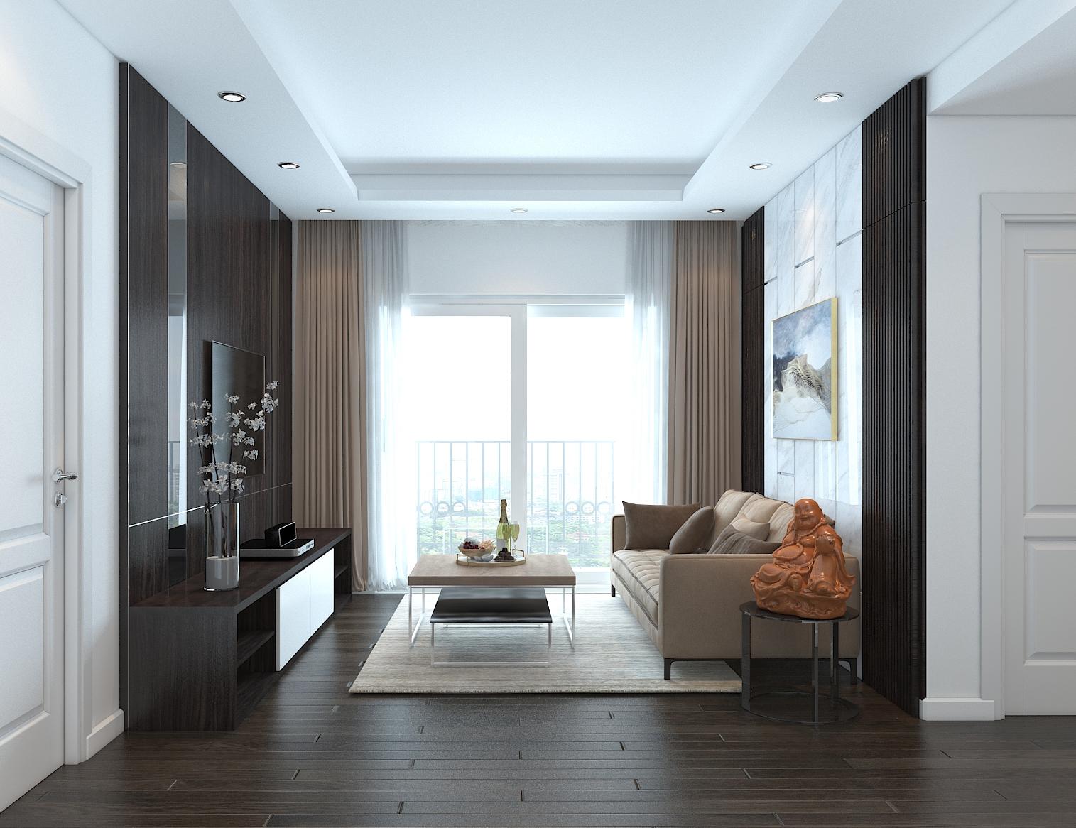 Nhà mẫu dự án căn hộ Chung Cư Bộ Công An Quận 2 đường chủ đầu tư Phú Cường Group