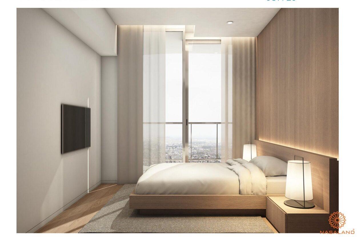 Thiết kế phòng ngủ dự án căn hộ Waterina Suites Quận 2