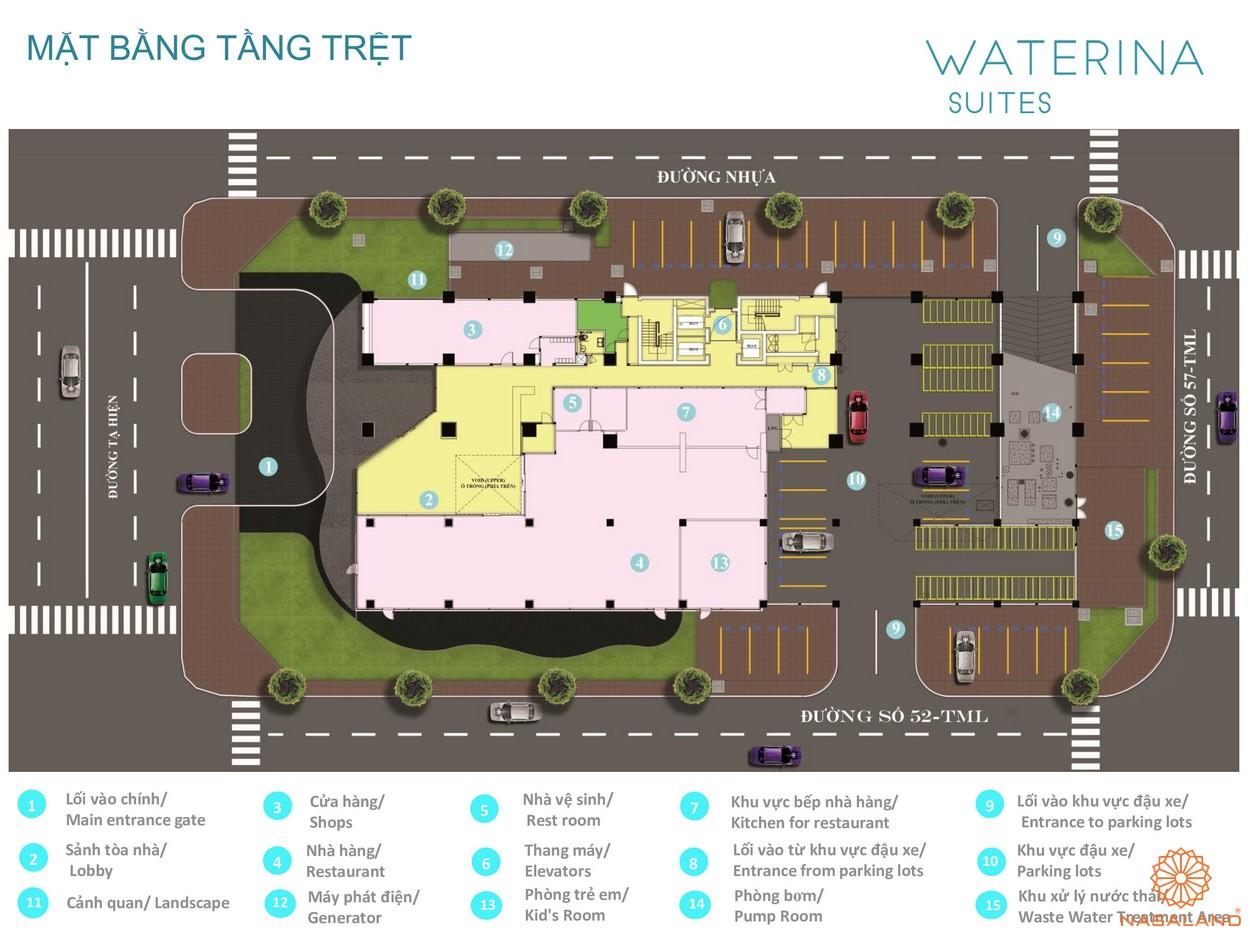 Tiện ích dự án căn hộ Waterina Suites Quận 2