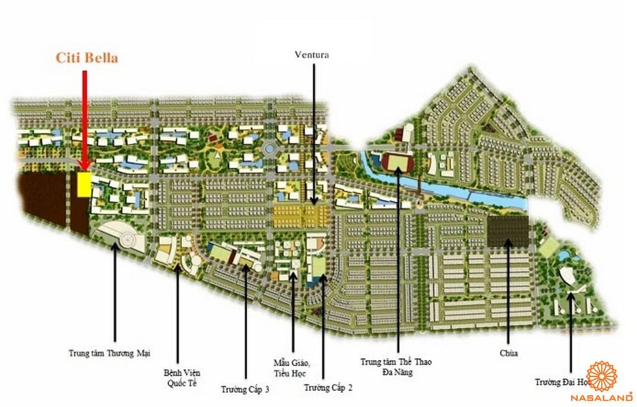 Mặt bằng dự án căn hộ CitiBella 1 Quận 2