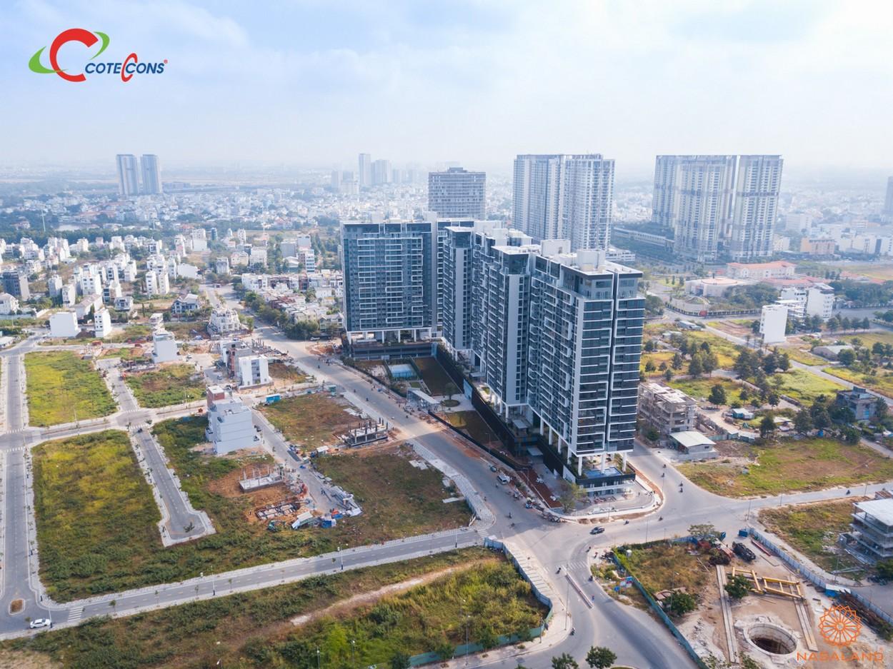 Tiến độ dự án căn hộ One Verandah Quận 2 đường Nguyễn Văn Kỉnh chủ đầu tư Mapletree