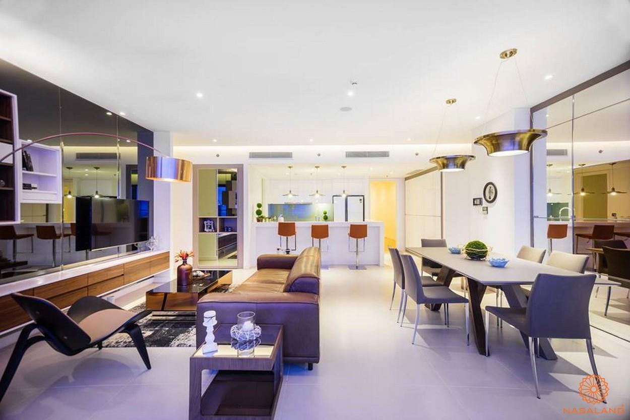 Nhà mẫu dự án căn hộ The Nassim