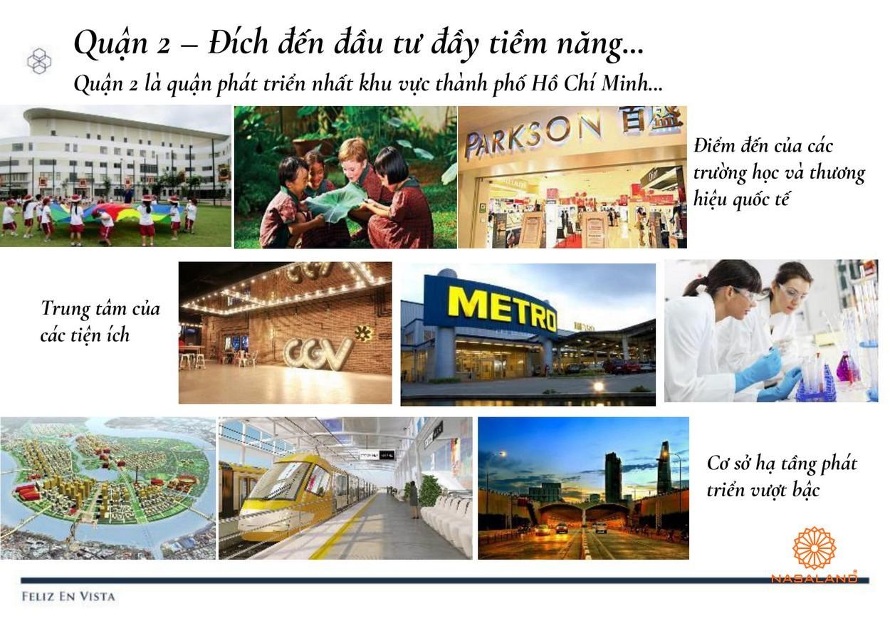 Tiện ích dự án căn hộ Feliz en Vista Quận 2 đường Phan Văn Đáng chủ đầu tư CapitaLand