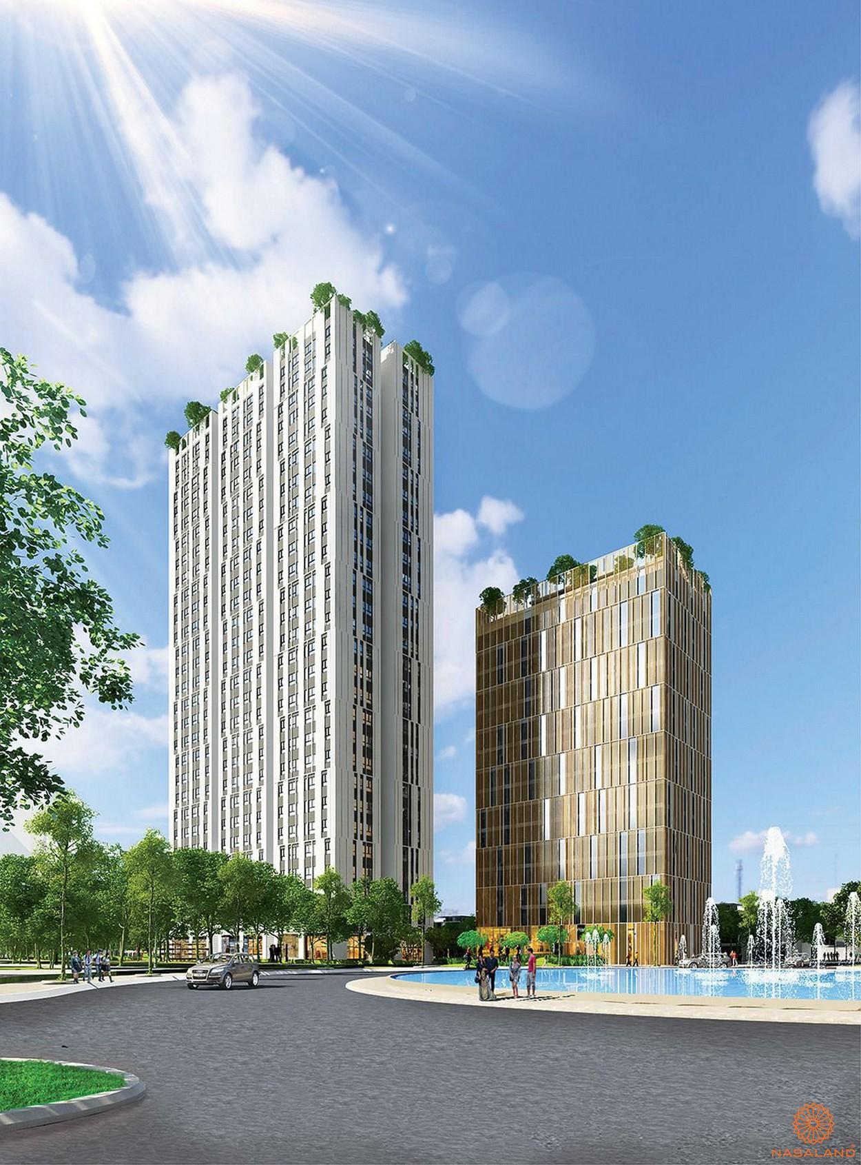 Phối cảnh tổng thể dự án Citiesto