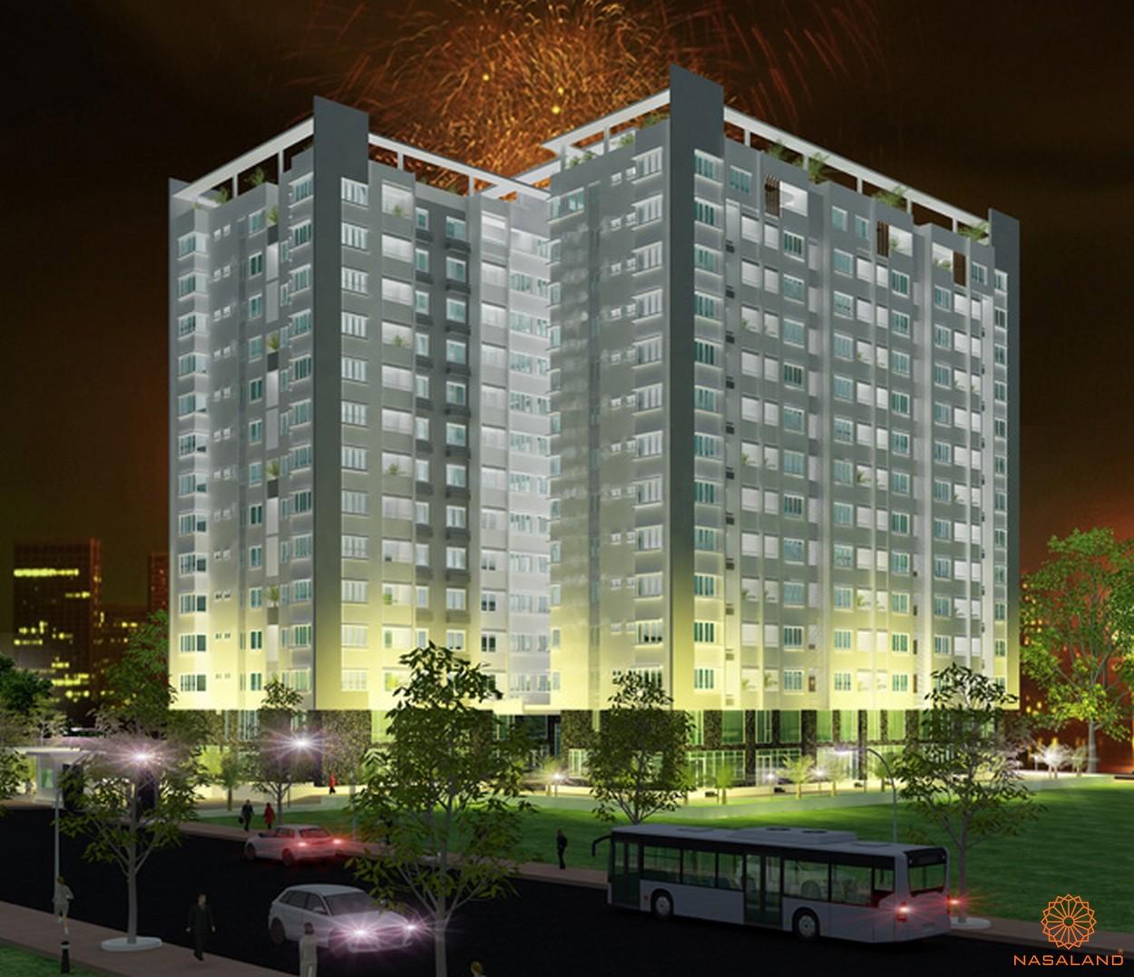 Phối cảnh dự án căn hộ Cherry Apartment