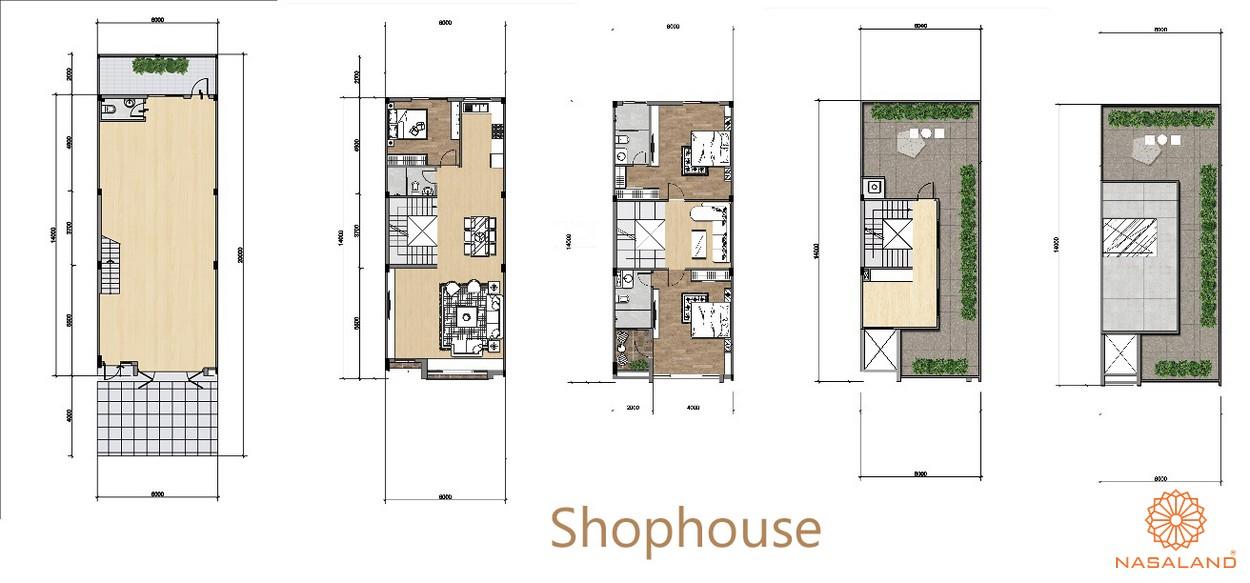 layout shophouse gem sky world
