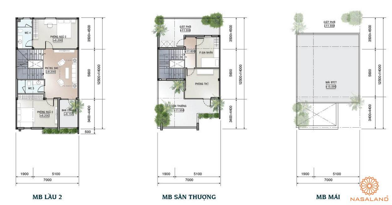 Thiết kế mẫu biệt thự dự án Sài Gòn Mystery Villa