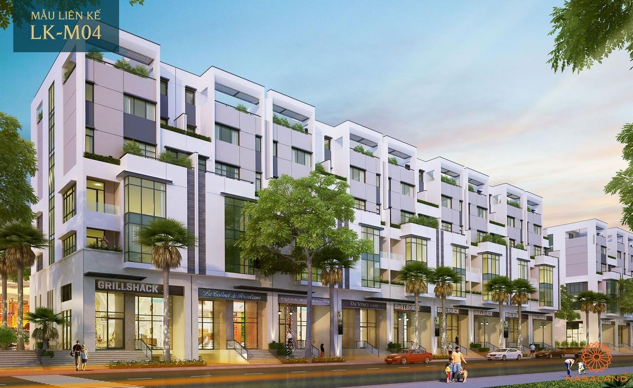 Nhà mẫu dự án nhà phố Sài Gòn Mystery Villa