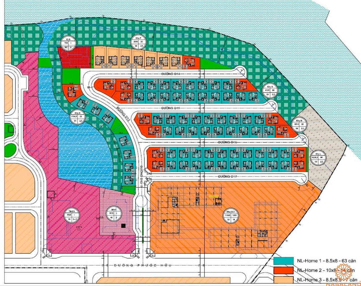 Mặt bằng tổng thể dự án căn hộ Valora Fuji