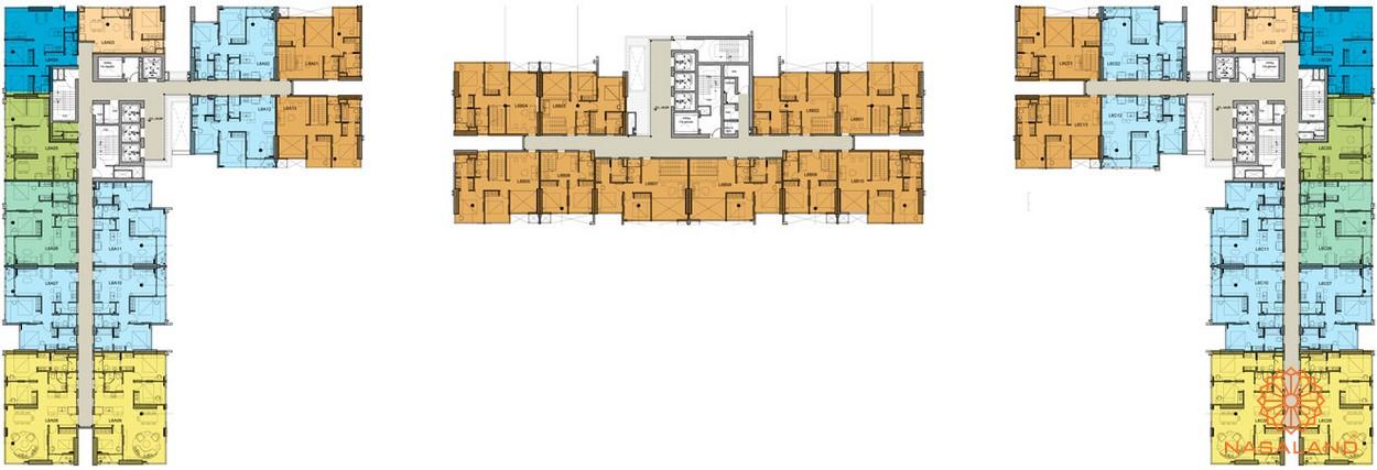 Mặt bằng chi tiết tằng 5-6 dự án căn hộ chung cư Kingdom 101