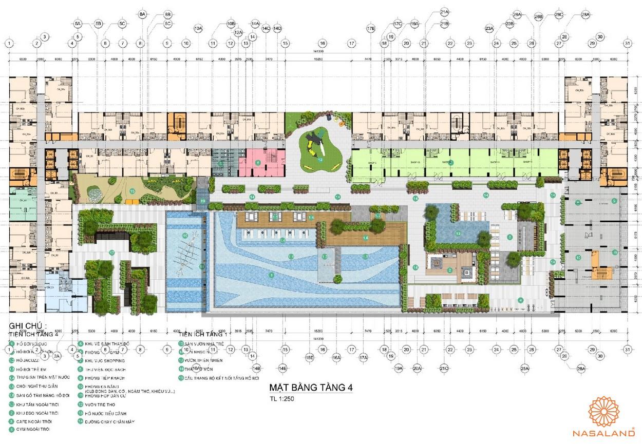 Mặt bằng tổng thể dự án căn hộ La Premier