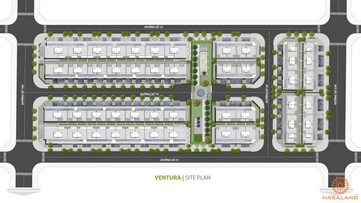Mặt bằng dự án dự án Ventura Quận 2aMặt bằng dự án dự án Ventura Quận 2 thành phố Thành Phố Hồ Chí Minh