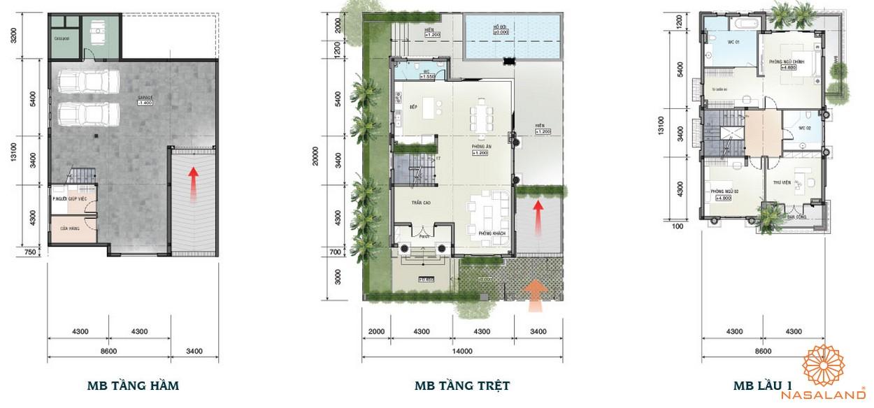 Thiết kế chi tiết dự án nhà phố Sài Gòn Mystery