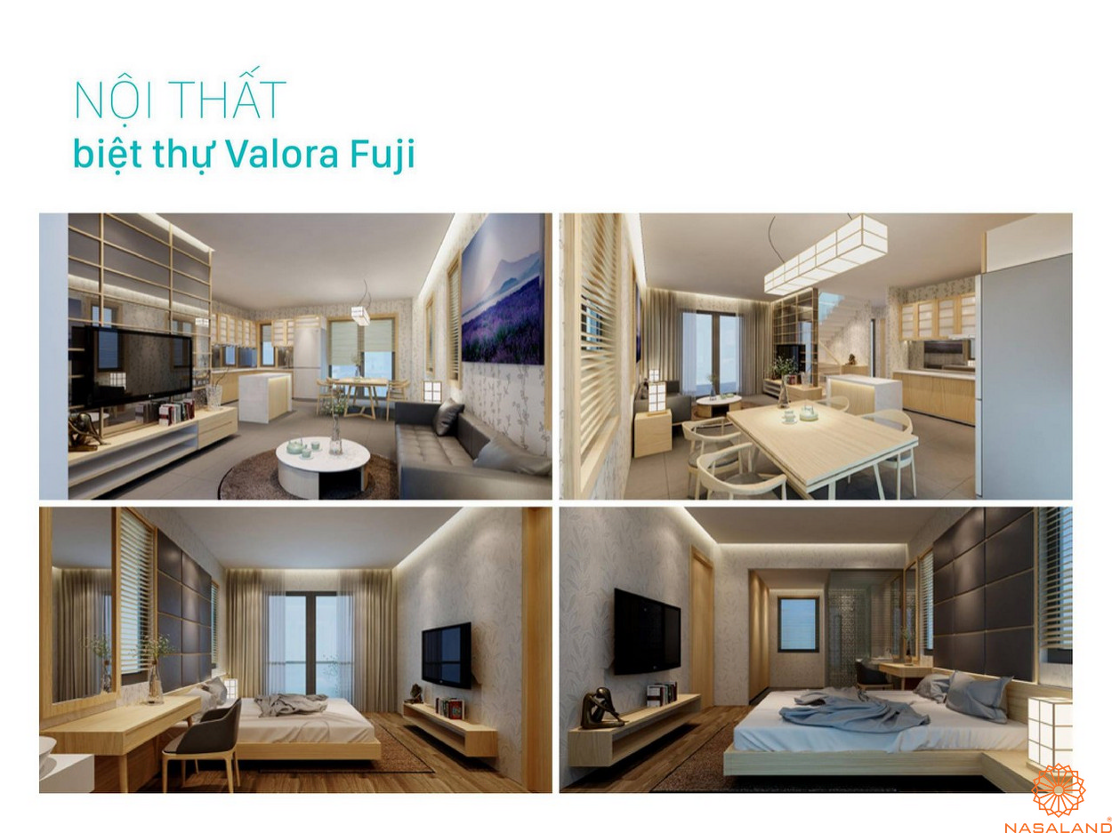Nội thất dự án Valora Fuji