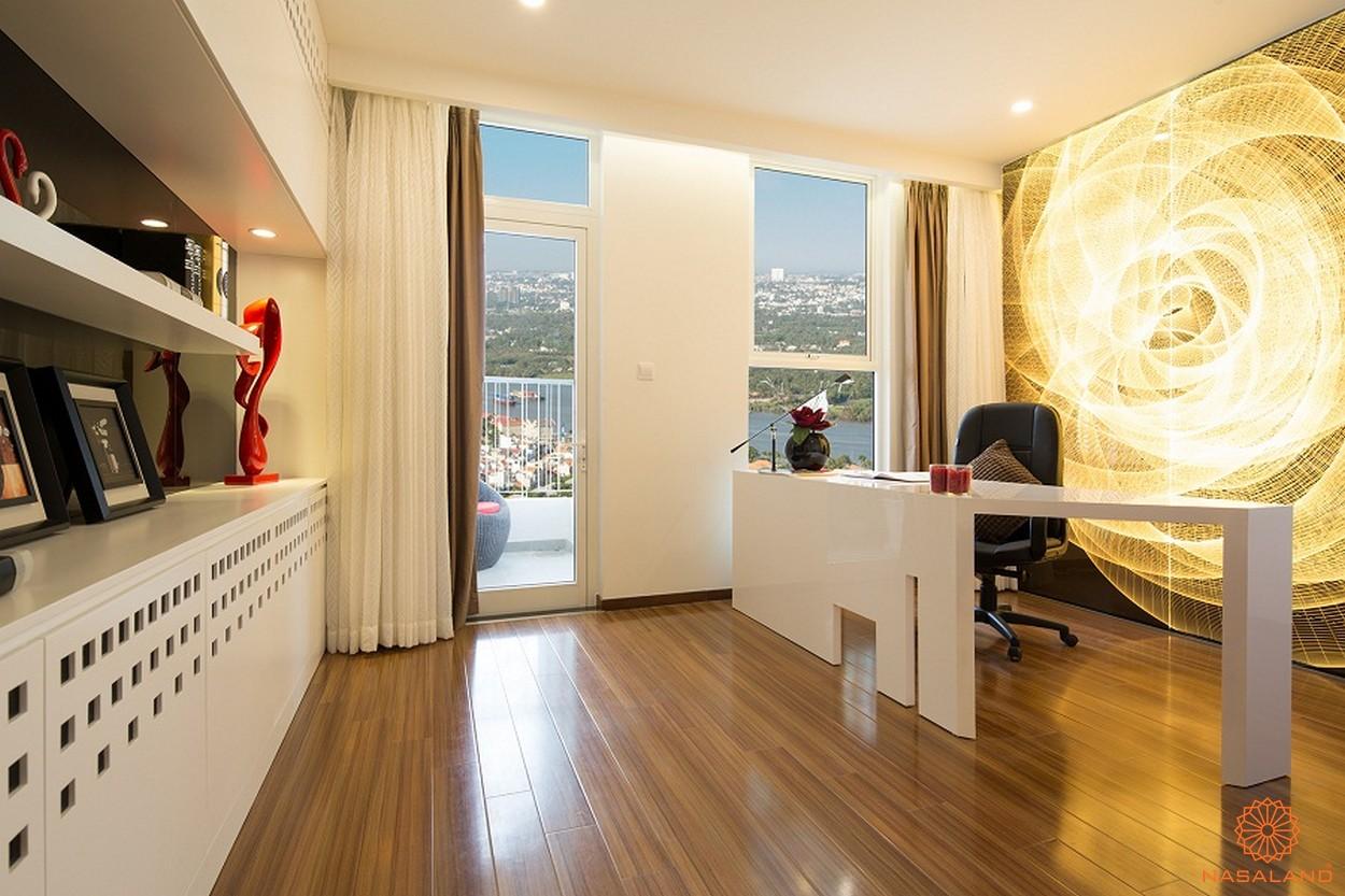 Nhà mẫu phòng làm việc điển hình tại căn hộ chung cư Thảo Điền Pearl Quận 2