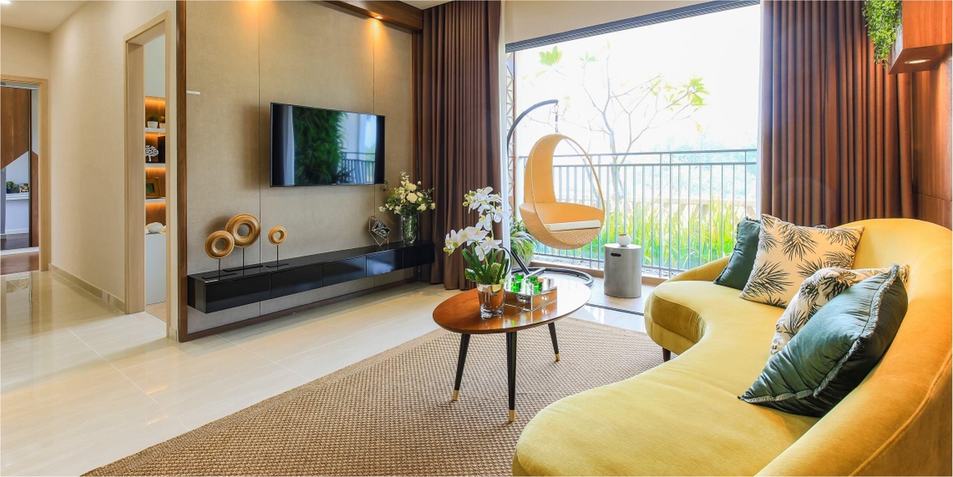 Thiết kế căn hộ chung cư Palm Garden Quận 2 Đường Song Hành chủ đầu tư Keppel Land