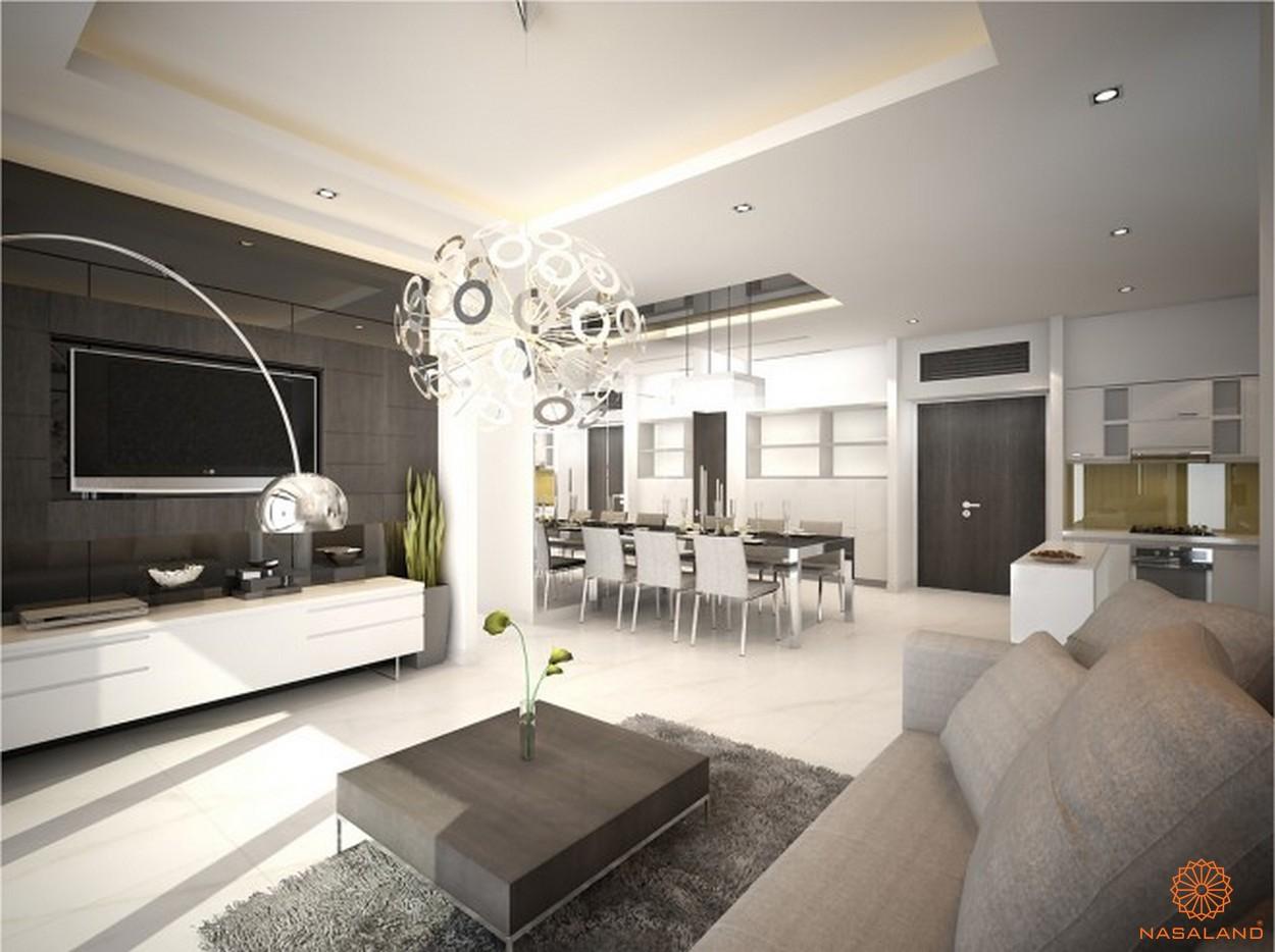 Nhà mẫu căn hộ dự án căn hộ Cherry Apartment