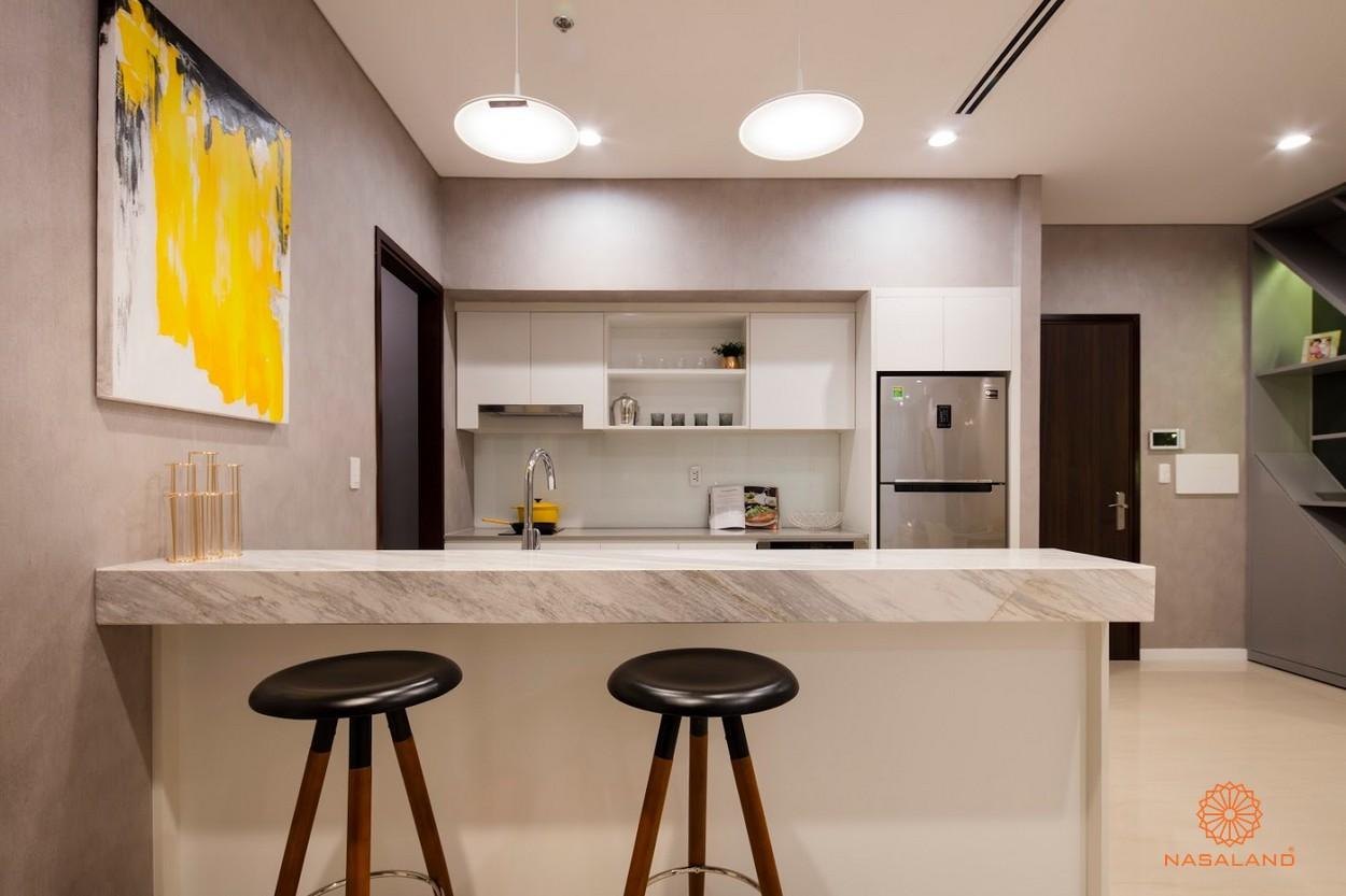 thiết kế phòng bếp căn hộ One Verandah