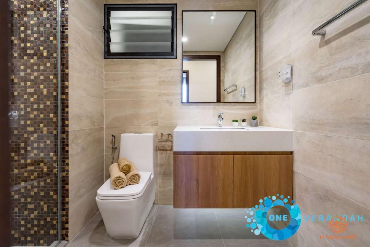 Nội thất toilet căn hộ One Verandah