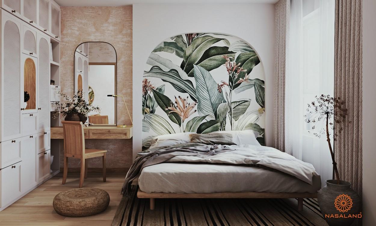 Nội thất phòng ngủ căn hộ One Verandah