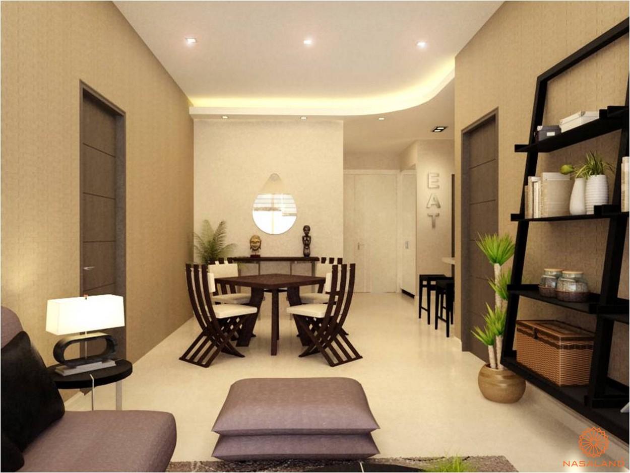 Thiết kế phòng ăn tại căn hộ chung cư Thảo Điền Pearl Quận 2