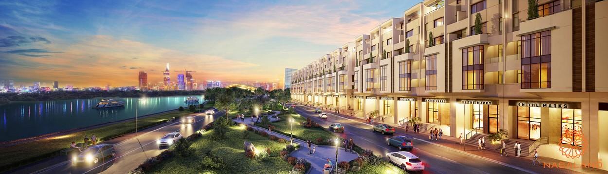 Phối cảnh tổng thể dự án Sài Gòn Mystery Villa