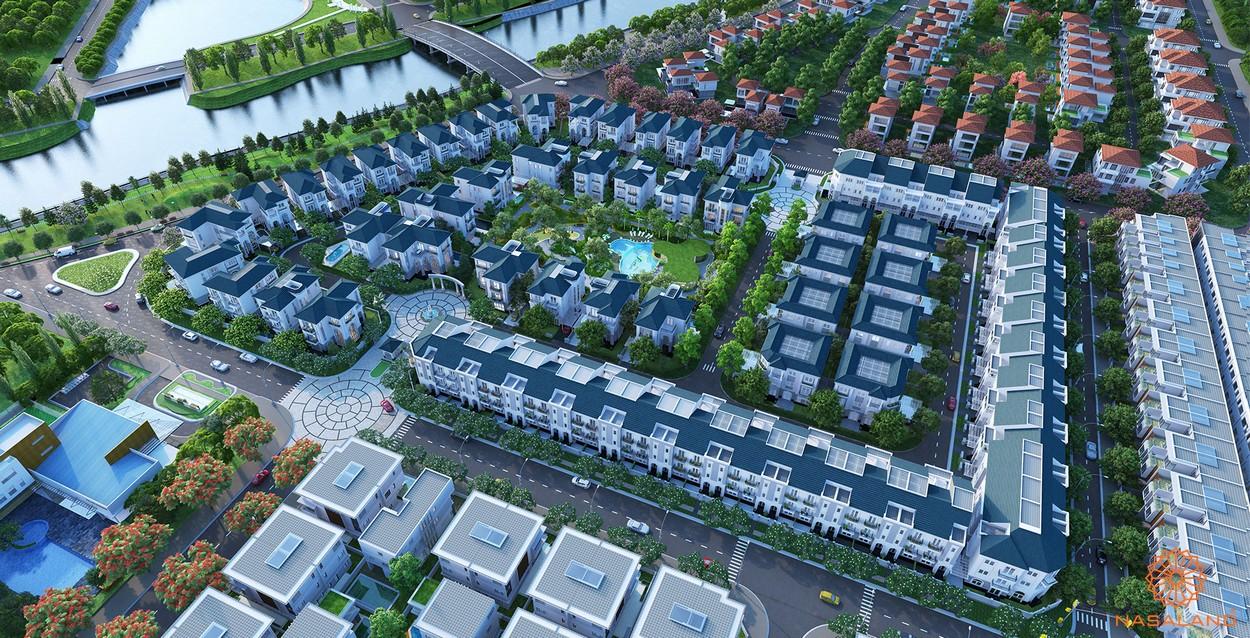 Hình ảnh phối cảnh dự án biệt thự Sol Villas Quận 2