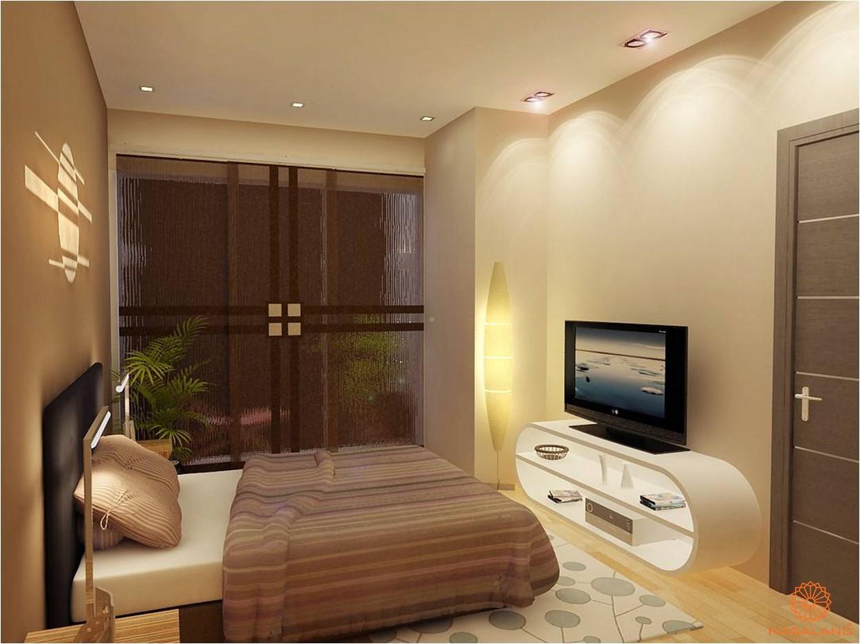 Thiết kế tổng quan dự ánThiết kế phòng ngủ đơn giản nhưng ấm cúng tại căn hộ Thảo Điền Pearl Quận 2