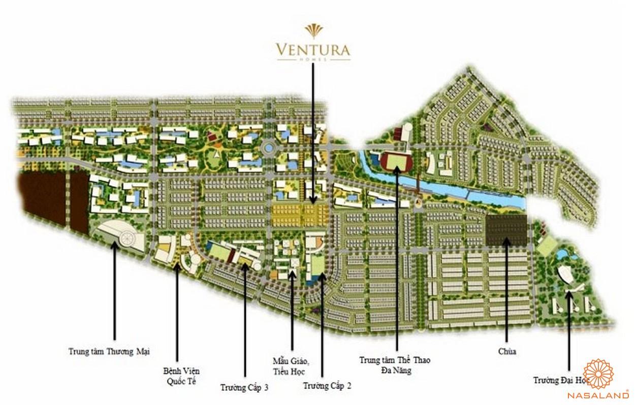Tiện ích tổng quan nội khu tại dự án Ventura Quận 2